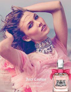 Karlie Kloss — the face of Couture La La fragrance