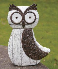 cute garden owl: