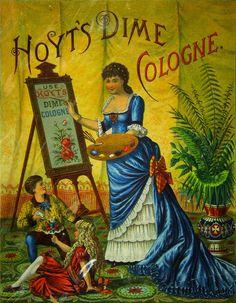 Hoyt's Dime Cologne - VINTAGE BLOG