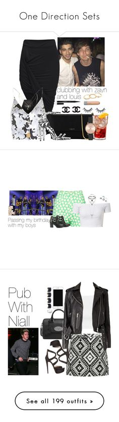 """One Direction Sets"" by gingy333 ❤ liked on Polyvore featuring Topshop, Lanvin, Yves Saint Laurent, Mudd, Elizabeth Arden, Paul & Joe Sister, Ravel, Casetify, Smashbox and NARS Cosmetics"