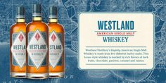 Westland Distillery – Thoughtfully Made Westland Distillery, Raisin, Whisky, Pacific Northwest, American, Bottle, How To Make, Rocks, Gift Ideas