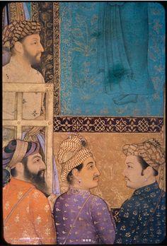 Bildschirmfoto: Harvard Mirador Viewer Mughal Miniature Paintings, Mughal Paintings, Mughal Empire, Ancient Art, Islamic Art, Indian Art, Art And Architecture, Graphic Art, Book Art