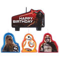 $4 Star Wars Episode VII Birthday Candle Set
