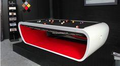 Toulet Blacklight Billiard Table