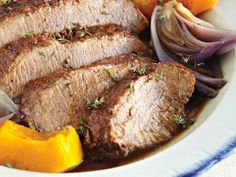 Fall Brisket With Cider and Butternut Squash
