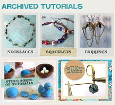 million awesome jewelry tutorials