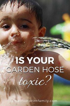 Is your garden hose delivering a heavy dose of heavy metals and toxic plasticizers to your children, pets and garden? Here's how to find a safer option. Organic Gardening, Gardening Tips, Vegetable Gardening, Urban Gardening, Ecology Center, Natural Parenting, Parenting Ideas, Natural Living, Natural Baby