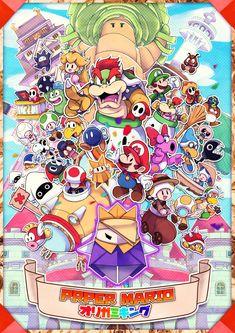 Super Mario Brothers, Super Mario Bros Nintendo, Mario Fan Art, Super Mario Art, Kirby Character, Character Design, Mario Comics, Luigi's Mansion, Paper Mario