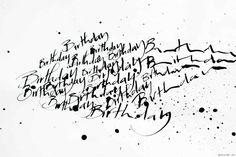Dans l'atelier de Nicolas Ouchenir, calligraphe de talent