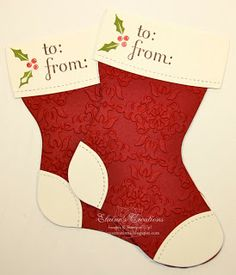 Elaine's Creations: Christmas Stockings