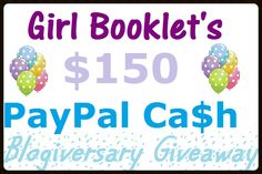 Help me celebrate my blogiversary by entering this INCREDIBLE giveaway!