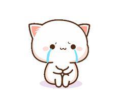 Firza naz😍😜 Cute Bear Drawings, Cute Animal Drawings Kawaii, Cute Kawaii Animals, Kawaii Cat, Kawaii Drawings, Cute Love Pictures, Cute Love Gif, Cute Love Memes, Cute Cat Gif