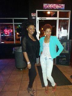 My friend Keturrah and I