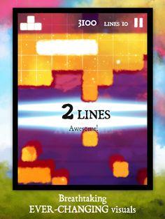 Dream of Pixels - a beautiful falling blocks game - in reverse! Play, Games, Dawn, Beautiful, Plays, Gaming, Game, Toys, Spelling