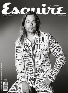 Esquire Malaysia - Brad Pitt