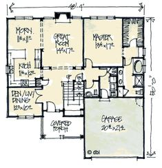 Florida Cracker Style COOL House Plan ID: chp-31391 | Total Living ...