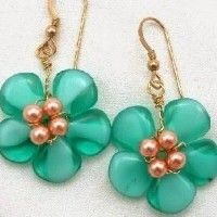 DIY Beaded Flower Shape Jewelry Tutorials