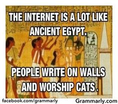 Haha... Not much has changed in 3,000 years...