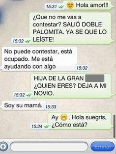 Las conversaciones de Whatsapp más graciosas.