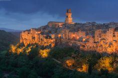Города Тосканы. Часть 2: Питильяно