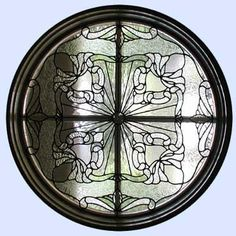 1000 images about stained glass on pinterest stained for Window design circle