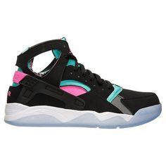NIKE AIR FLIGHT HUARACHE BLACK PINK RETRO 705005-003  Nike   AthleticSneakers Air Max d762083ab