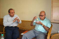 Dr S Nagraj Roa from pittsburgh visits Annamrita