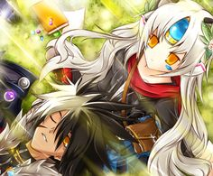 Elsword - Raven and Eve