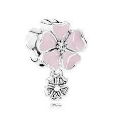 Authentic Pandora Charms Poetic Blooms Dangle Soft Pink Enamel & Clear CZ #charm #FlowerCharm #PinkEnamelCharm #AuthenticPandora #PandoraCharm #CharmsPandora #charms #SpringCharm #PandoraCharms #PoeticBloomDangle