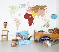 Cómo decorar las habitaciones infantiles http://ini.es/2q02qQK #Complementos, #Decoración, #Dormitorio, #DormitorioInfantil, #IdeasParaDecorar, #Niños, #Novedades