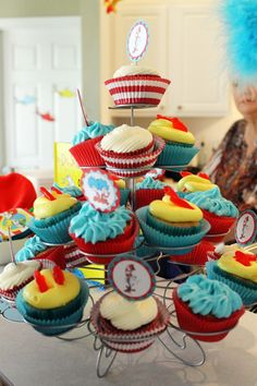 Dr. Suess Cupcakes