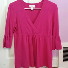 Ann Taylor Loft sweater Size M, nice color.. perfect for spring or summer.. 77%rayon, 23%nylon.. LOFT Sweaters