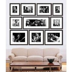 Rock and Roll Archive Collection of Black and White Framed Prints