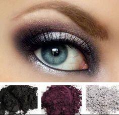 Gorgeous eyes, gorgeous pigments