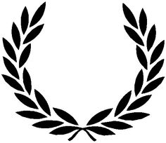 Laurel wreath tattoo - I like this shape, but would like a little more detail in the leaves.