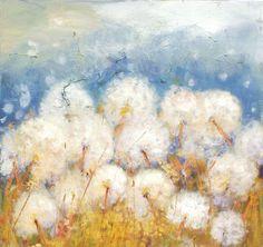 Items similar to Dandelion Art - Painting Print - Wish Flower - Wall Decor - Kitchen Art Decor - Painting Flower Art Print on Etsy Dandelion Painting, Sky Digital, Painting Prints, Art Prints, Sky Art, Flower Wall Decor, Painting Inspiration, Flower Art, Art Decor