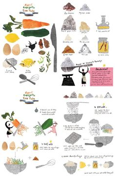Soo Choi. I love this illustration for a cook book!: