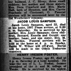 pg 8 jacob Louis Sampson obit