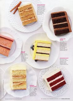 Wedding Cake Tasting Top 10 Flavors  I could totally for a cake     Similar ideas