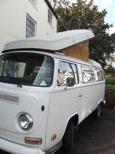 Very Original White 1972 Westfalia VW Campervan. Tax Exempt | eBay