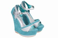 Features Glittery Peeptoe Sandals Ankle Strap Heel type Wedge Style Peep-toes Event Casual Summer Fashion Heel height 6 Inches Color Green Material