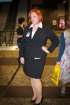 JoJo as Scully at GeekGirlCon '12. Photo by Jeremy Mendonsa