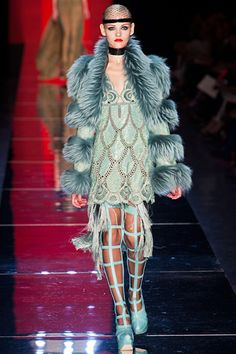 Flapper take 3...Jean Paul Gaultier Fall 2012 Couture