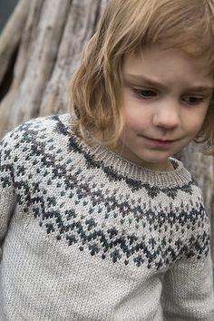 Tin Can Knits Dog Star Fair Isle Sweater Knitting Pattern Fair Isle Knitting Patterns, Christmas Knitting Patterns, Sweater Knitting Patterns, Arm Knitting, Kids Knitting, Motif Fair Isle, Dk Weight Yarn, Knit In The Round, Paintbox Yarn