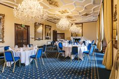 Whether you're holding a conference, a gala banquet or hosting special occasion, our meeting and function rooms are perfectly suited for all your requirements. Function Room, Edinburgh Scotland, Castle, Chandelier, Table Decorations, Furniture, Home Decor, Candelabra, Decoration Home
