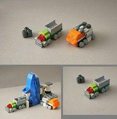 Utility Vehicles (Multihawk) Tags: scale truck lego utility mini future vehicle nano civilian logistics supply microscale