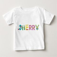 Sherry Baby T-Shirt - baby gifts child new born gift idea diy cyo special unique design