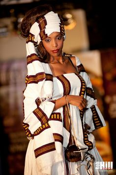 Ethiopian style. I am in love #Africanfashion #africaninspired
