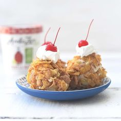 #ARCTICZERO rolled in #cereal is basically a healthier version of fried ice cream!