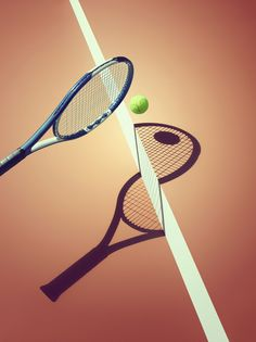 Sports Shadows by Kelvin Murray, via Behance